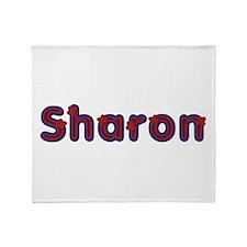 Sharon Red Caps Throw Blanket