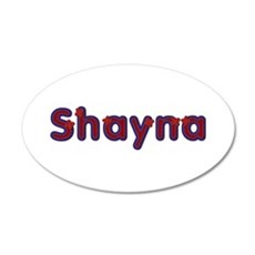 Shayna Red Caps Wall Decal