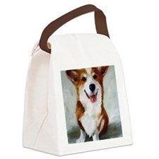 All Smiles Canvas Lunch Bag