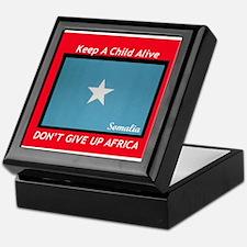 GOING RED Keepsake Box