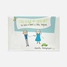 Hold a Hand Rectangle Magnet