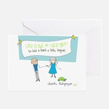 Hold a Hand Greeting Card