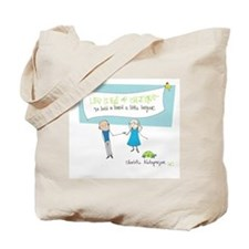 Hold a Hand Tote Bag
