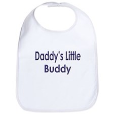 Daddy's Little Buddy Bib