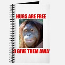 HUGS ARE FREE Journal