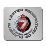 FLEET7-R1 Brushed Metal Mousepad