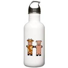 COW AND PIG Water Bottle