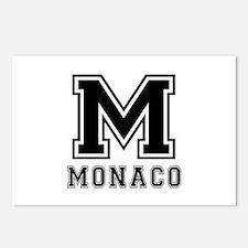 Monaco Designs Postcards (Package of 8)