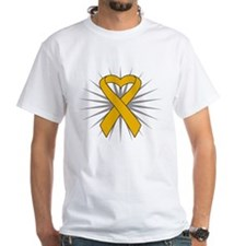 Appendix Cancer Heart Ribbon Shirt