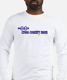 CC Cross Country Mom Long Sleeve T-Shirt