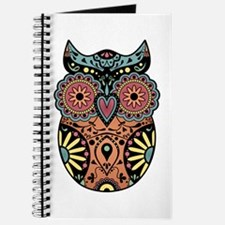 Sugar Skull Owl Color Journal