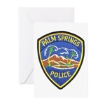 Palm Springs Police Greeting Cards (Pk of 10)