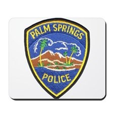Palm Springs Police Mousepad