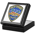 Palm Springs Police Keepsake Box
