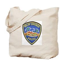 Palm Springs Police Tote Bag