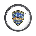 Palm Springs Police Wall Clock