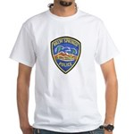 Palm Springs Police White T-Shirt
