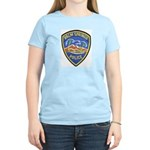 Palm Springs Police Women's Pink T-Shirt