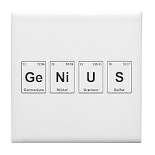Genius - Periodic Table Tile Coaster