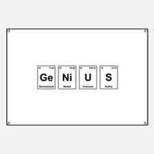 Genius - Periodic Table Banner