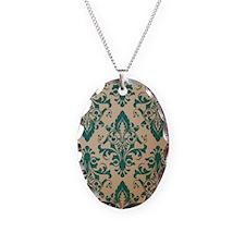 Retro Damask Necklace