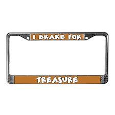 Treasure License Plate Frame