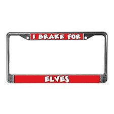 Elves License Plate Frame