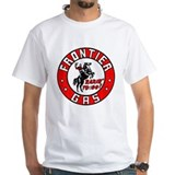 Retro hot rod Mens White T-shirts