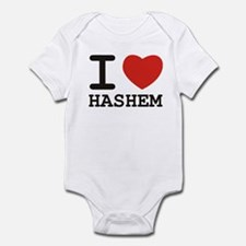 I Heart Hashem Infant Bodysuit