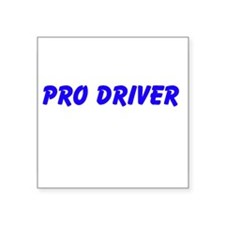 Pro Driver Sticker
