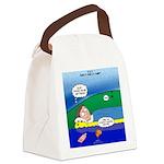Camp Rain Canvas Lunch Bag