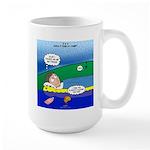 Camp Rain Large Mug