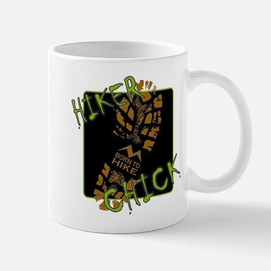 Hiker Chick - Boot Mug