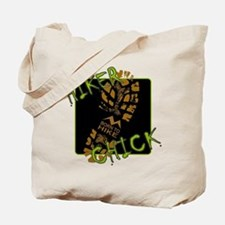 Hiker Chick - Boot Tote Bag