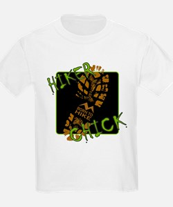 Hiker Chick - Boot T-Shirt