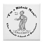 Bidnit School Tile Coaster
