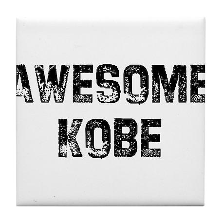 Awesome Kobe Tile Coaster