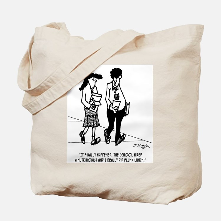 Flunked Lunch Tote Bag