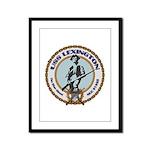 USS Lexington Framed Panel Print
