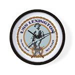 USS Lexington Wall Clock