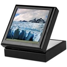 Blue Patagonian Glacier - Keepsake Box