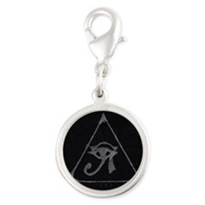 The Executives  Silver Round Charm