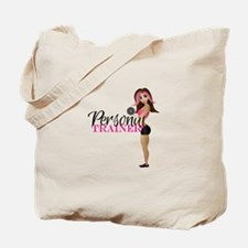 Personal Trainer Fit Girl Tote Bag