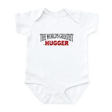 """""""The World's Greatest Hugger"""" Infant Bodysuit"""