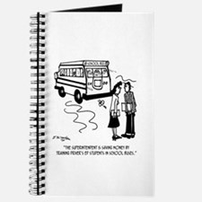 Driver's Ed Uses a School Bus Journal