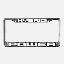 Hybrid POWER License Plate Frame