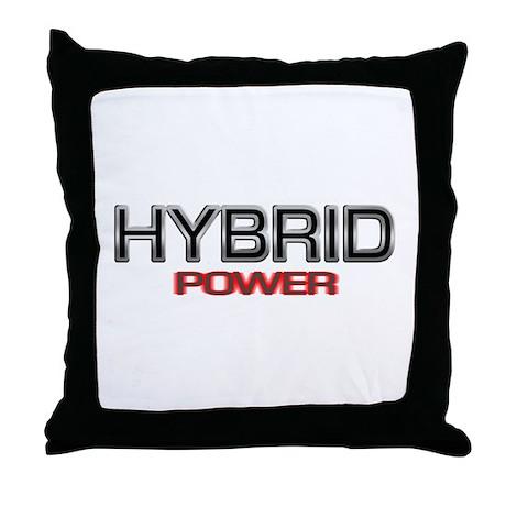 Hybrid POWER Throw Pillow