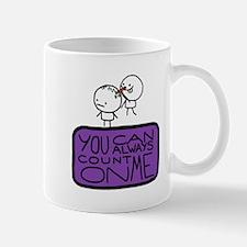 Count On Me Small Mug