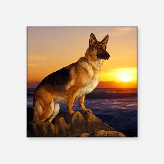Beautiful German Shepherd Sticker