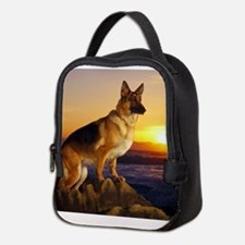 Beautiful German Shepherd Neoprene Lunch Bag